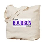 New Orleans Bourbon St.Tote Bag