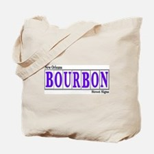 New Orleans Bourbon St.Tote Bag