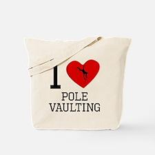 I Heart Pole Vaulting Tote Bag
