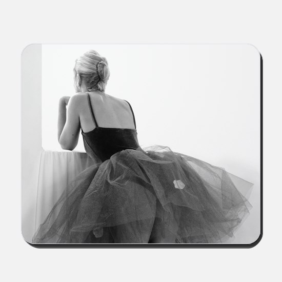 Ballerina Waiting Offstage Mousepad