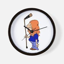hockey Wall Clock