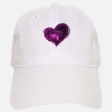 Glowing Purple Mushrooms Baseball Baseball Baseball Cap