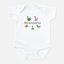 Aliviaosaurus Infant Bodysuit