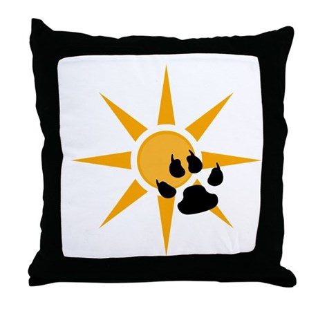 Tiger paw throw pillow!