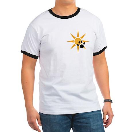 Tiger paw print t-shirt