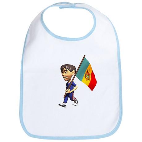 Moldova Boy Bib