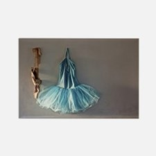 Blue Ballet Tutu Costume and Worn Pointe Shoes Mag