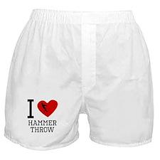 I Heart Hammer Throw Boxer Shorts