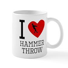 I Heart Hammer Throw Mugs