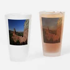 The Lighthouse in Palo Duro Canyon Drinking Glass