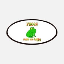 Frogs Make Me Happy Patches