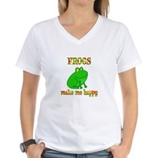 Frogs Make Me Happy Shirt