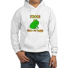 Frogs Make Me Happy Jumper Hoody