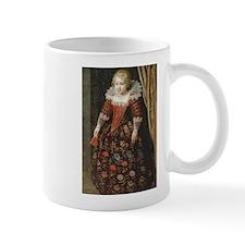 17th C Dutch Girl Mugs
