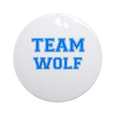 TEAM WOLF Ornament (Round)