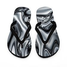 Cute Fractals Flip Flops