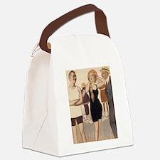 Ooo La La 1913 Canvas Lunch Bag