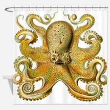 Vintage octopus cephalopod kraken tentacles Shower