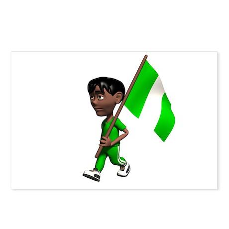 Nigeria Boy Postcards (Package of 8)