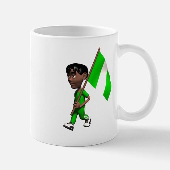 Nigeria Boy Mug