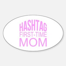 1st Time Mommy Hashtag Decal