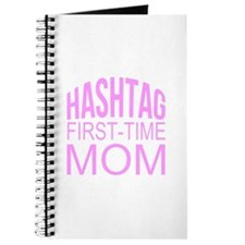 1st Time Mommy Hashtag Journal