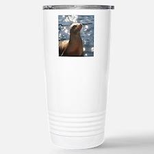 Sparkling Sea Lion Travel Mug