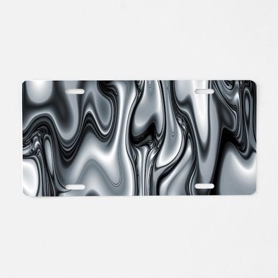Variation 22 Aluminum License Plate