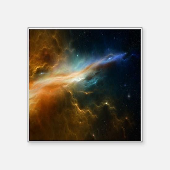 Deep Space Nebula Sticker