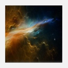 Deep Space Nebula Tile Coaster