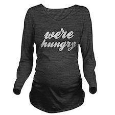 Funny Long Sleeve Maternity T-Shirt