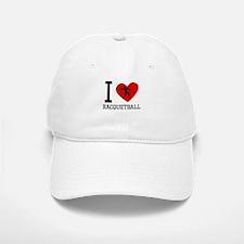 I Heart Racquetball Baseball Baseball Baseball Cap