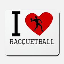 I Heart Racquetball Mousepad