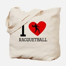 I Heart Racquetball Tote Bag
