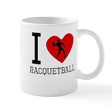 I Heart Racquetball Mugs