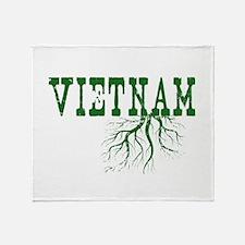 Vietnam Roots Throw Blanket