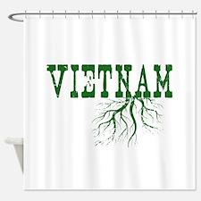 Vietnam Roots Shower Curtain