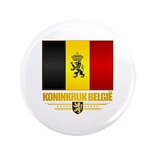 """Kingdom of Belgium 3.5"""" Button"""