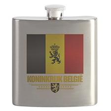 Kingdom of Belgium Flask