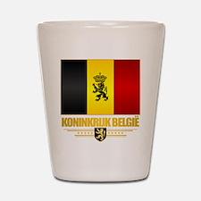 Kingdom of Belgium Shot Glass
