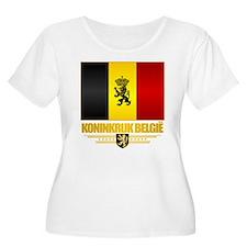 Kingdom of Belgium Plus Size T-Shirt