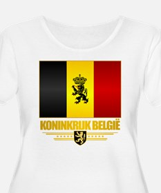 Kingdom of Belgium Plus Size T-Shirt