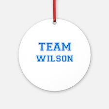 TEAM WILSON Ornament (Round)