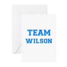 TEAM WILSON Greeting Cards (Pk of 10)