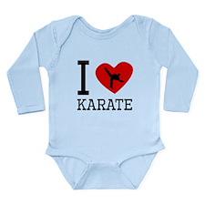 I Heart Karate Body Suit