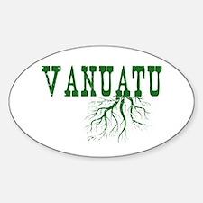 Vanuatu Roots Sticker (Oval)