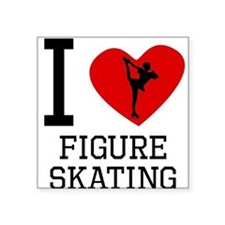 I Heart Figure Skating Sticker