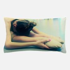 Ballerina Ballet Dancer Student at Rest Pillow Cas