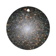 Hubble Deep Space View Ornament (Round)
