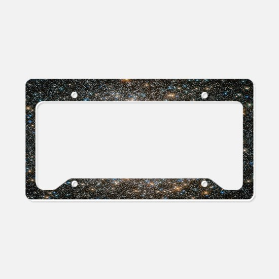 Hubble Deep Space View License Plate Holder